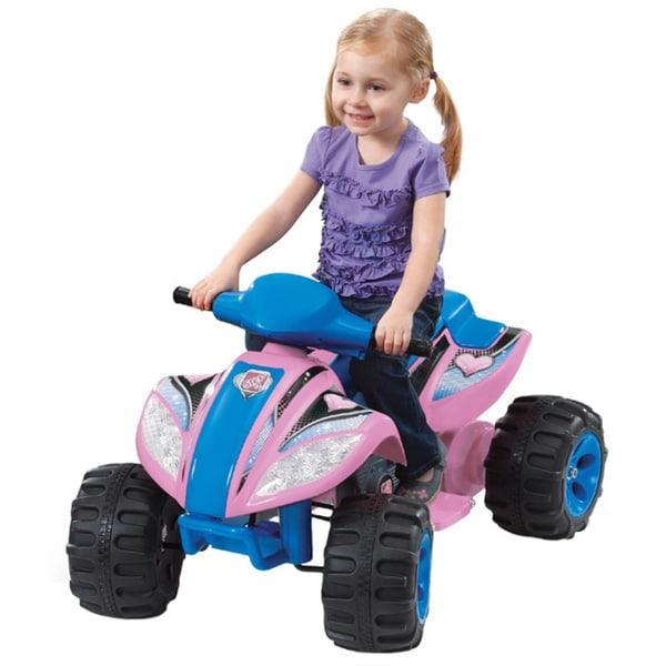 Step 2 6V Pink Max Quad Battery Operated Ride On