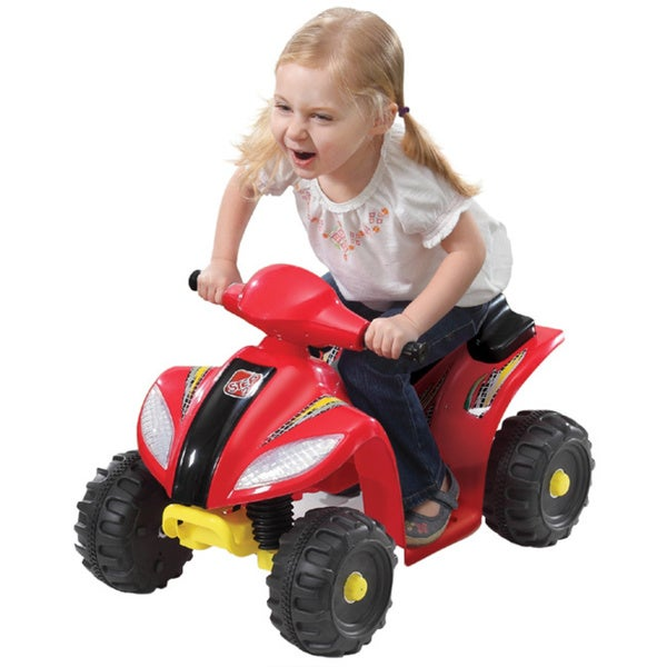 Step 2 6V Red Mini Quad Battery Operated Ride On