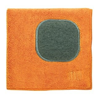 Mukitchen Mumodern Orange Microfiber Dishcloth