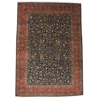 Handmade One-of-a-Kind Kashan Rug (Iran) - 9'4 x 13'6