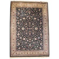 Handmade Herat Oriental Asian Tabriz Wool Rug  - 9'10 x 13'10 (China)