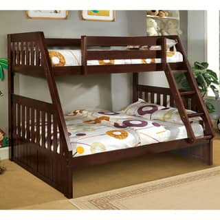 Shop Pello Contemporary Full Over Full Bunk Bed By Foa On Sale