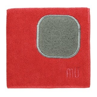 Mukitchen Mumodern Crimson Microfiber Dishcloth
