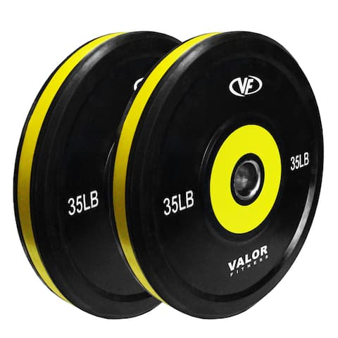 Valor Fitness BPP-10 Pro Bumper Plates