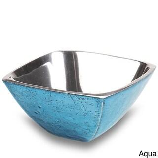 Bermuda Tropical Colored Aluminum Bowls (Set of 2)