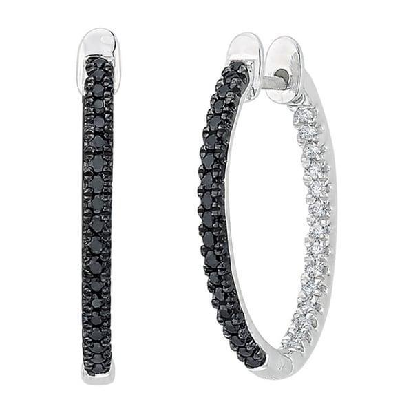 shop 10k white gold 1 3ct black and white diamond inside. Black Bedroom Furniture Sets. Home Design Ideas