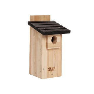 Nature's Way Advanced BIrd Products CWH4 Cedar Bluebird and Wild Bird Viewing House