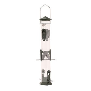 Nature's WayAdvanced Bird Products DT17-P Deluxe 17-inch Twist and Clean Thistle Wild Bird Feeder