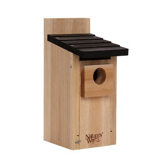 Nature's Way Advanced Bird Products CWH3 Cedar Bluebird and Wild Bird House