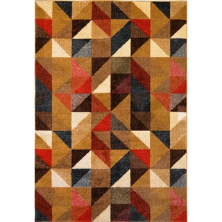 Home Dynamix Reaction Collection Multi Machine Made Polypropylene Area Rug (5'3 x 7'2)