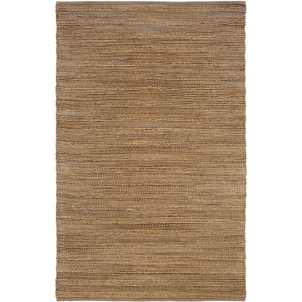 LR Home Hand Loomed Natural Fiber Sonora Biscay Jute/ Chenille Rug - 5' x 7'9""