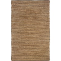 "LR Home Natural Fiber Biscay-2 Striped Area Rug - 5'2"" x 7'9"""