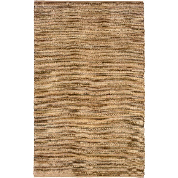 "LR Home Natural Fiber Prague Striped Area Rug - 5'2"" x 7'9"""