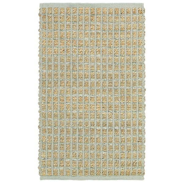 Shop Lr Home Natural Fiber Grey Striped Area Rug 8 X 10