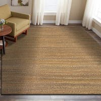 LR Home Natural Fiber Prague Striped Area Rug