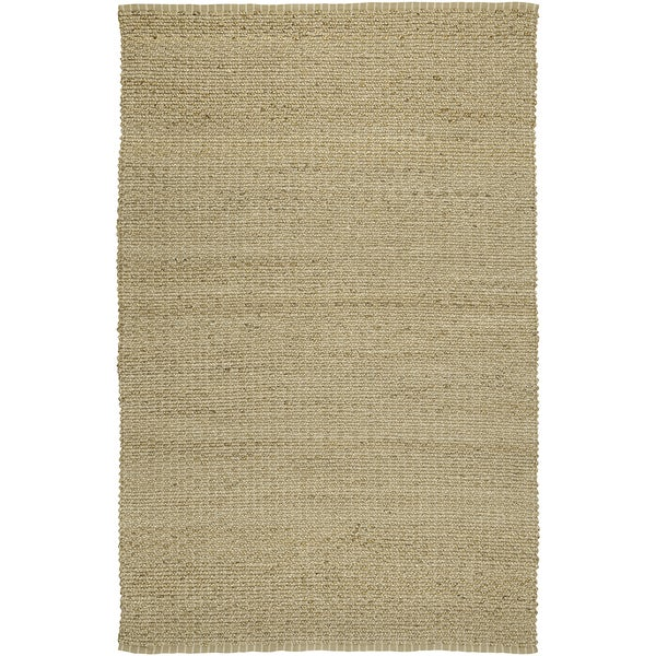 "LR Home Natural Fiber Dockside Natural Striped Area Rug - 5'2"" x 7'9"""