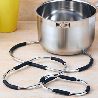 Metal Wire 3-piece Trivet Set