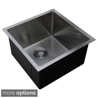 Ukinox Micro Series Stainless Steel Single-bowl Sink