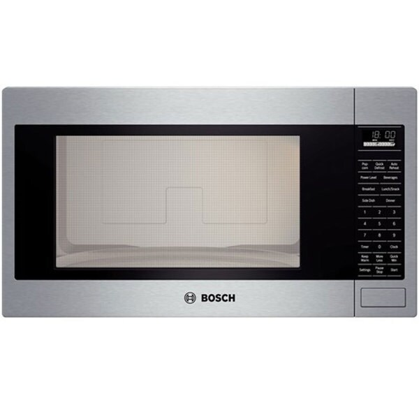 Bosch Stainless Steel 2 1 Cu Ft Built In Microwave Oven