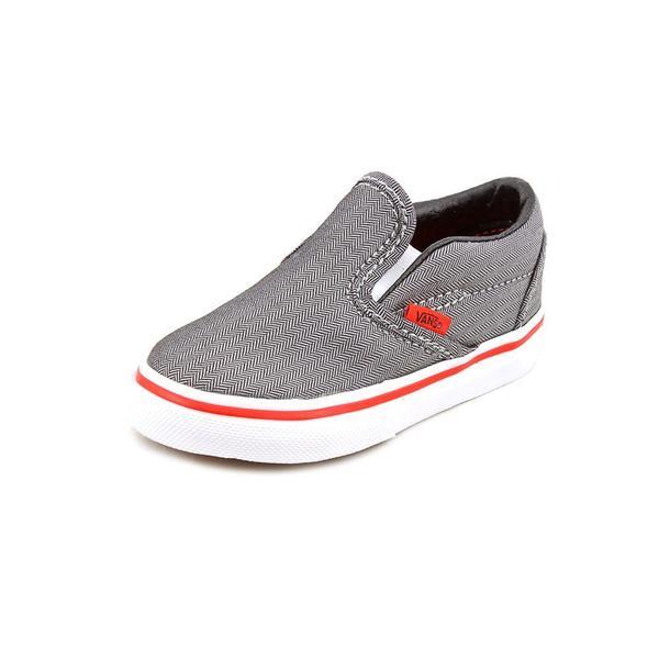 3db383c3a0c5 Shop Vans Boy (Toddler)  Classic Slip-On  Canvas Athletic Shoe ...