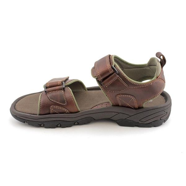 Rocklake' Leather Sandals - Overstock