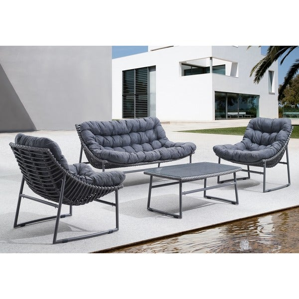 Shop Ingonish Grey Beach Chair - Free Shipping Today ...