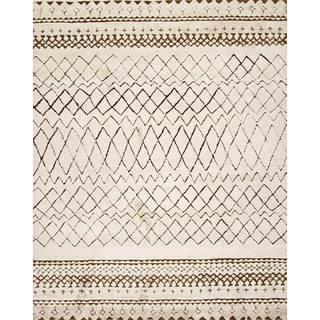 ABC Accent Beni Ourain Moroccan Beige Wool Area Rug (5' x 8')