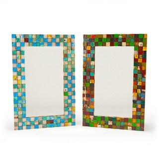 Apocalypso Reclaimed Wood Mirror