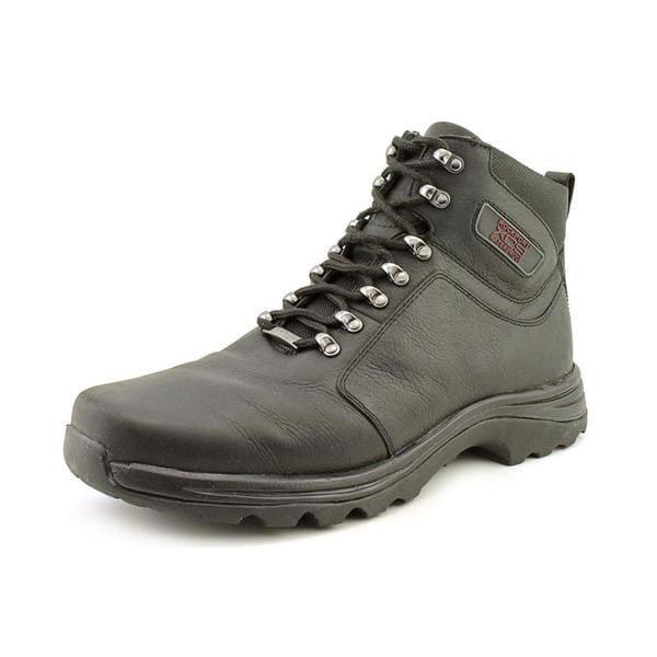 Shop Rockport Xcs Men S Elkhart Leather Boots Wide Size 13