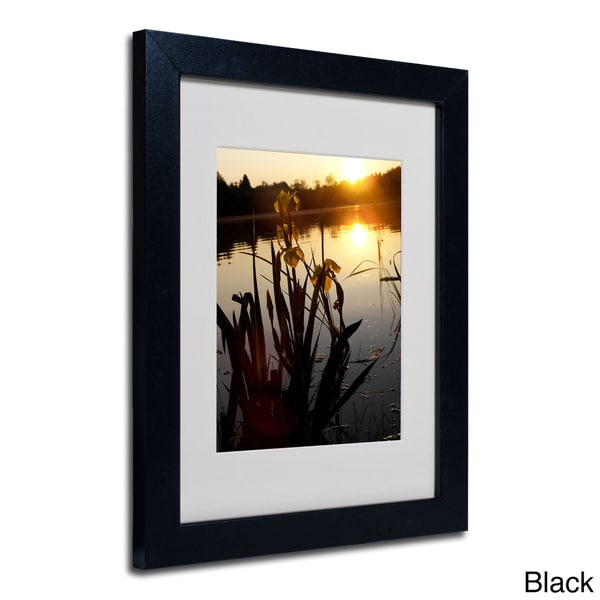 Monica Fleet Reflective Strength Framed Matted Art