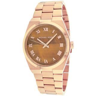Michael Kors Women's MK5895 'Channing' Rosegold Watch|https://ak1.ostkcdn.com/images/products/9188233/P16361983.jpg?impolicy=medium