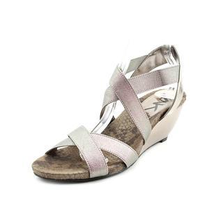 Anne Klein Sport Women's 'Cerisler' Fabric Sandals