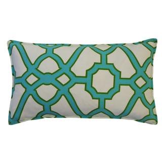 12 x 20-inch Octagon Jade Throw Pillow