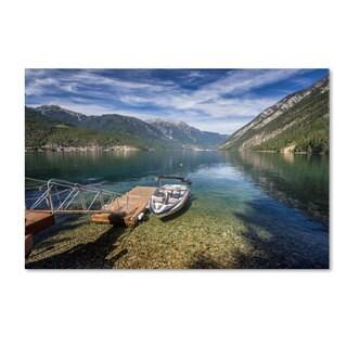 Pierre Leclerc 'Lake' Canvas Art