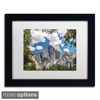 Pierre Leclerc 'Yosemite Half Dome' Framed Matted Art