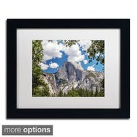 Pierre Leclerc 'Yosemite Half Dome' Framed Matted Art