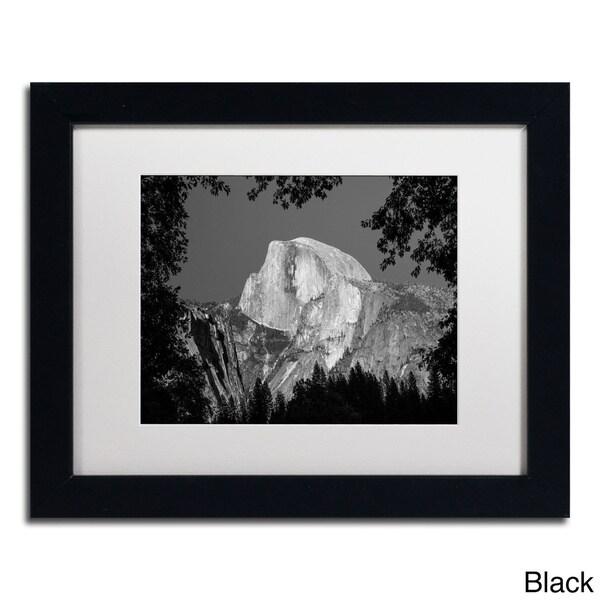 Pierre Leclerc 'Yosemite BW' Framed Matted Art