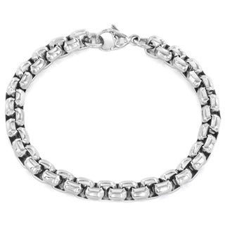 Women's Stainless Steel Rolo Bracelet