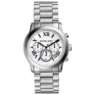 Michael Kors Women's MK5928 'Cooper' Silvertone Chronograph Watch