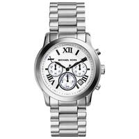 Michael Kors Women's  'Cooper' Silvertone Chronograph Watch