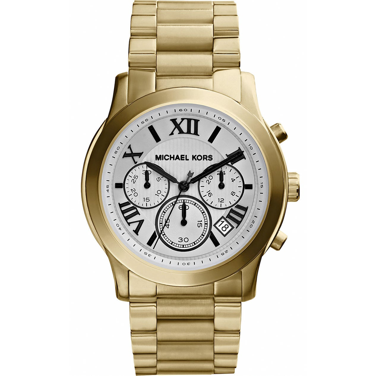 Michael Kors Womens MK5916 Cooper Goldtone Tone Chronograph Watch Womens MK5916 Cooper Gold Tone Chronograph Watch
