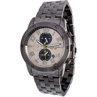 Michael Kors Men's MK8349 Mercer Gunmetal Stainless Steel Watch