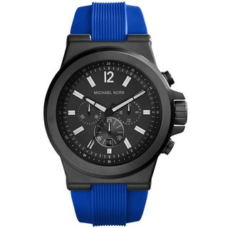 Michael Kors Men's MK8357 Dylan Blue Silcone Watch