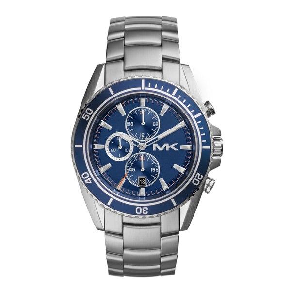 Michael Kors Men X27 S Mk8354 Chronograph Lansing Stainless Steel Bracelet Watch
