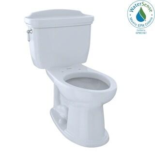 TOTO CST754EF-01 Dartmouth 2-Piece Eco Elongated Toilet, Cotton White