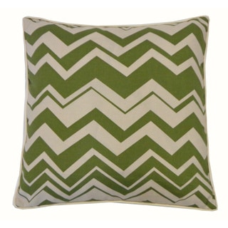 20 x 20-inch Vista Green Throw Pillow