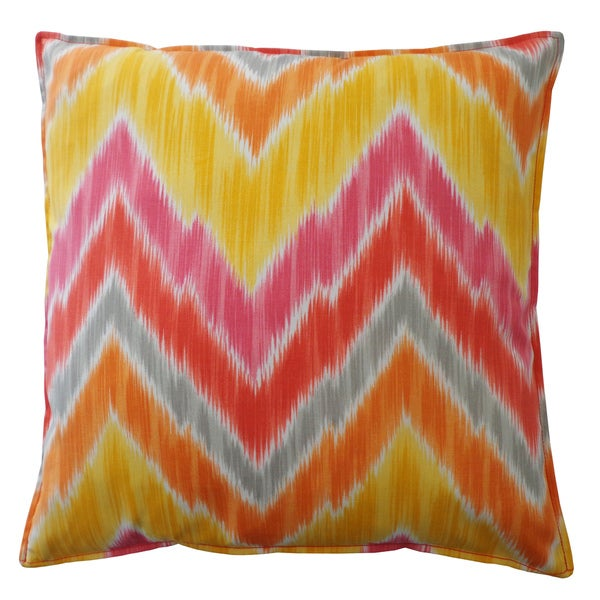 20 x 20-inch Pulse Melon Throw Pillow
