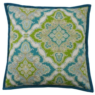 20 x 20-inch Zoso Turquoise Throw Pillow
