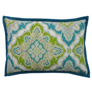 Zoso Turquoise Throw Pillow