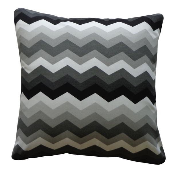 Handmade Iroquis Black Pillow